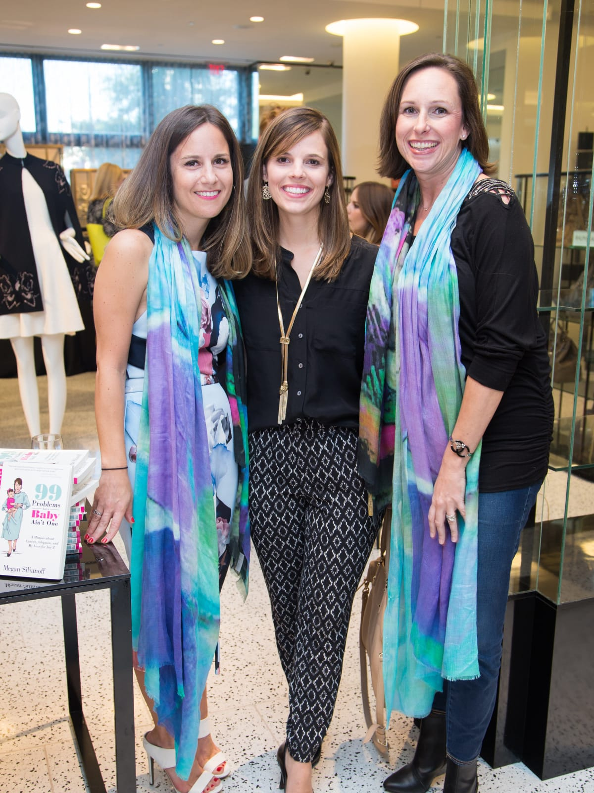 News, Shelby, Ovarian Cancer Awareness Month. tootsies, Sept. 2015, Megan Silanoff, Morgan Hotzel, Aimee Friend