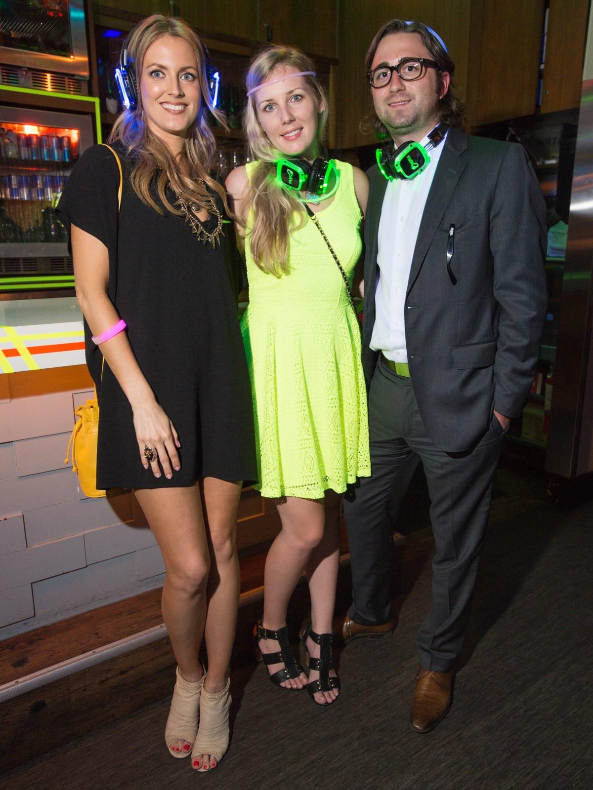 Lauren Mason, Kristen Johnson, Michael Graska