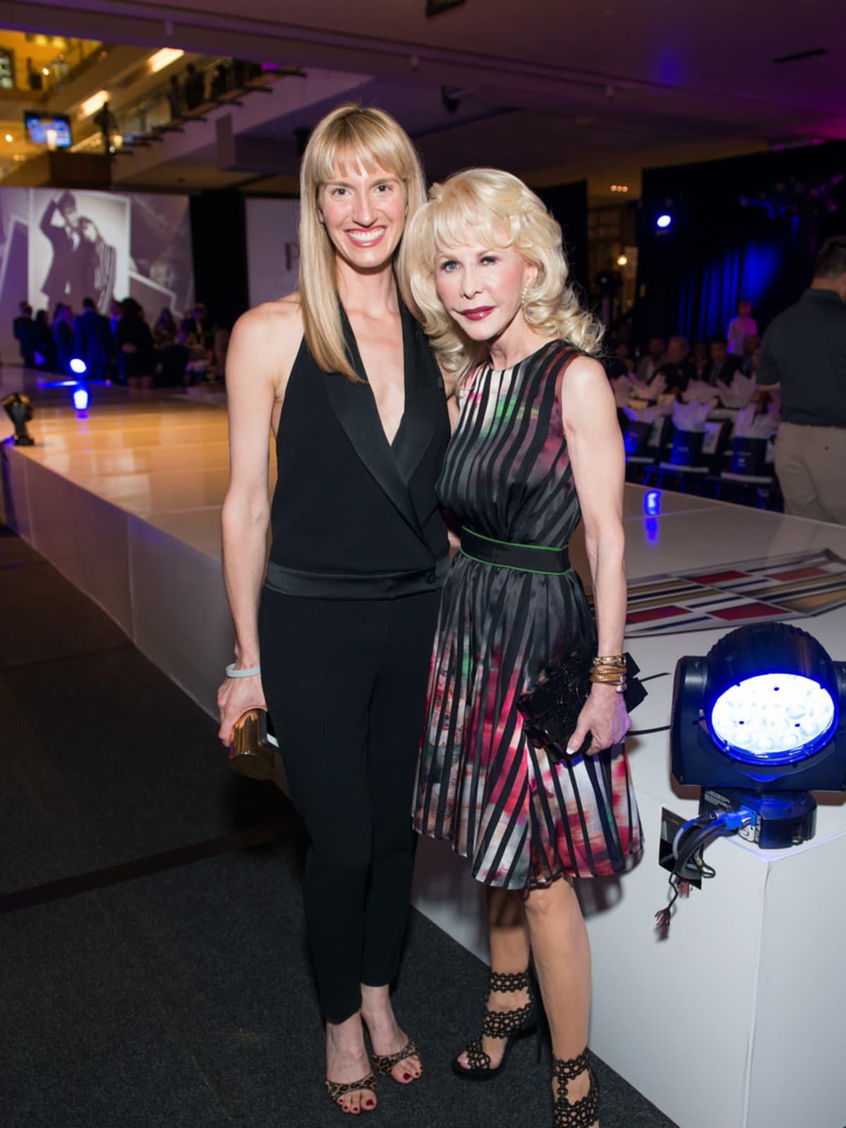 Houston, Vogue Simon Fashion Show, September 2015, Chris Goins, Diane Lokey Farb