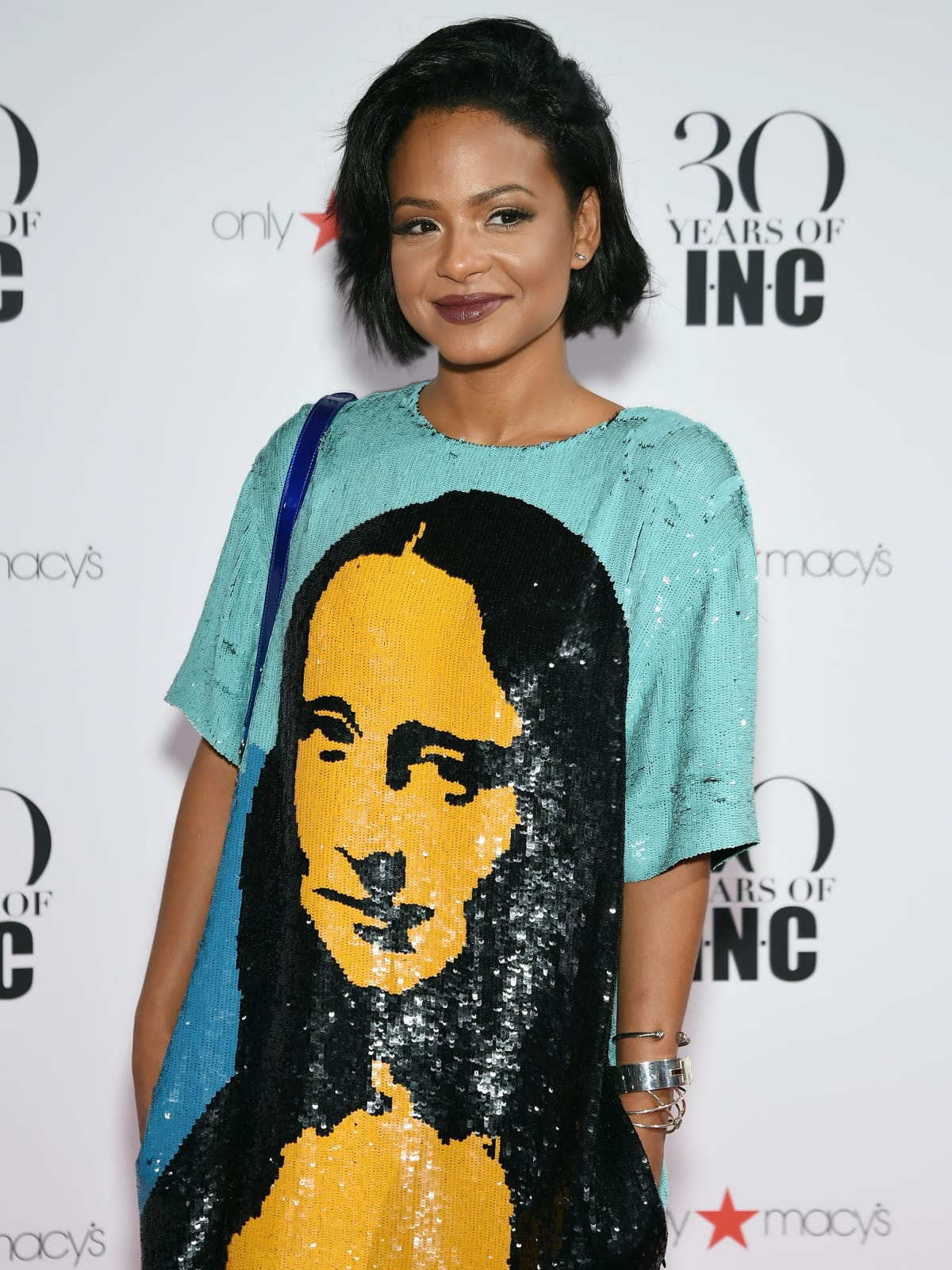Christina Milian at Macy'c INC party at New York Fashion Week