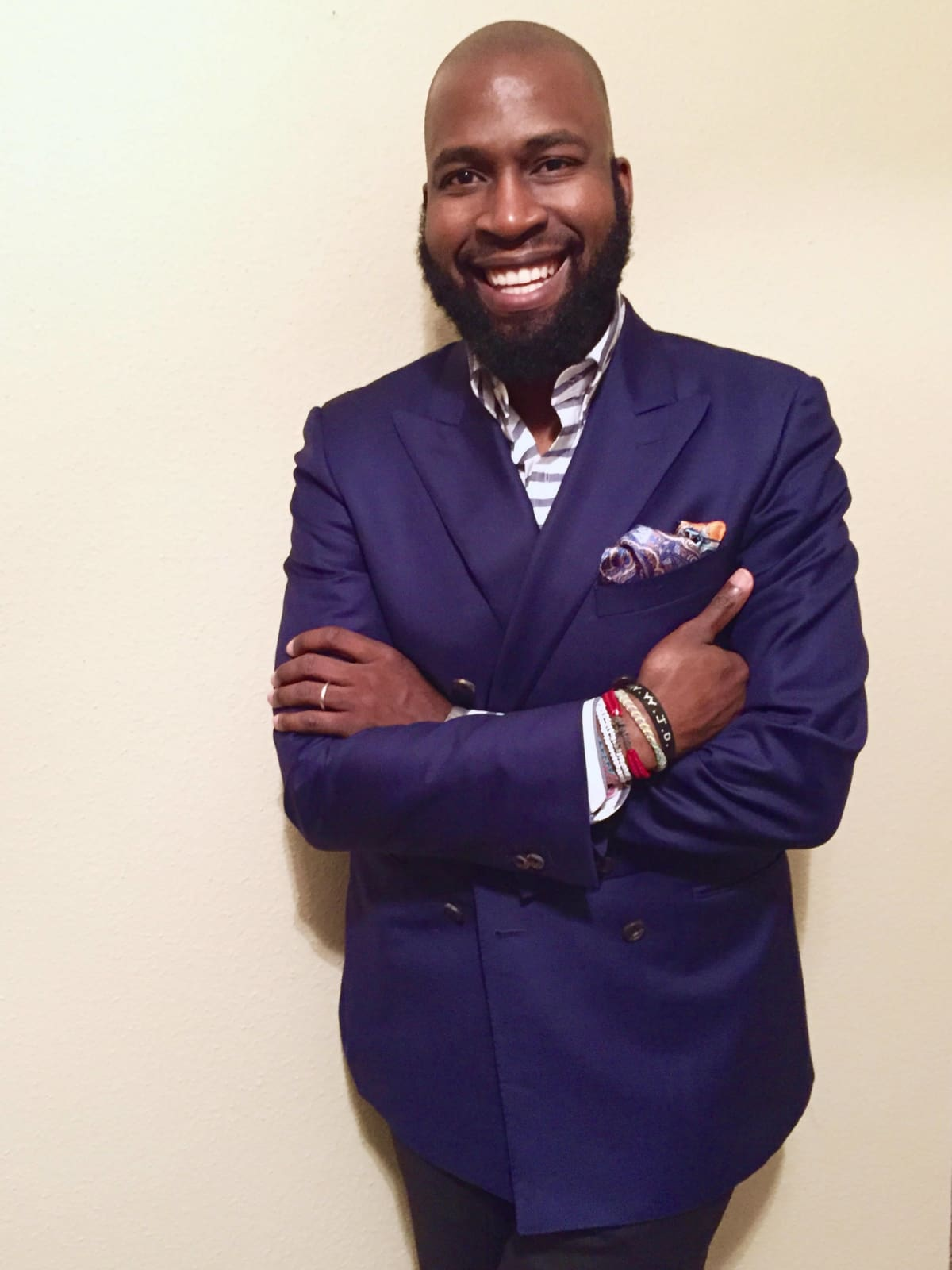 Stylemaker nominee Nelson Huff