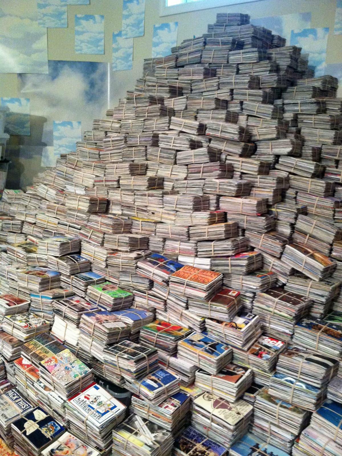 PostSecret Post Card Stack