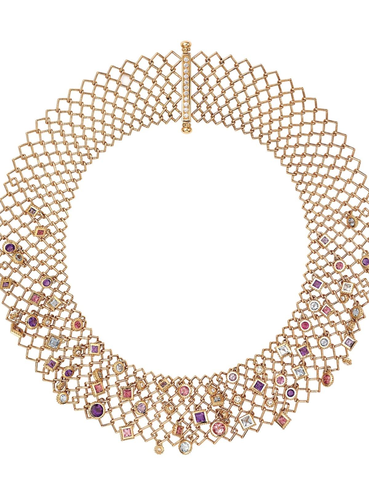 Cartier necklace collection Paris Nouvelle Vague