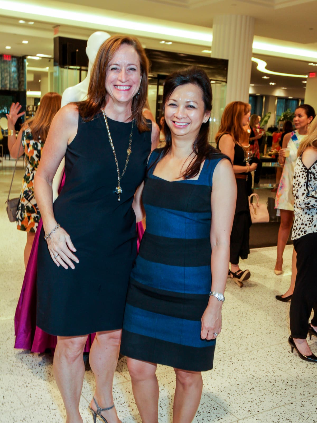 Houston, Ellevate event at Tootsies, August 2015, Ann-Michele Bowlin, Trinh Abrell