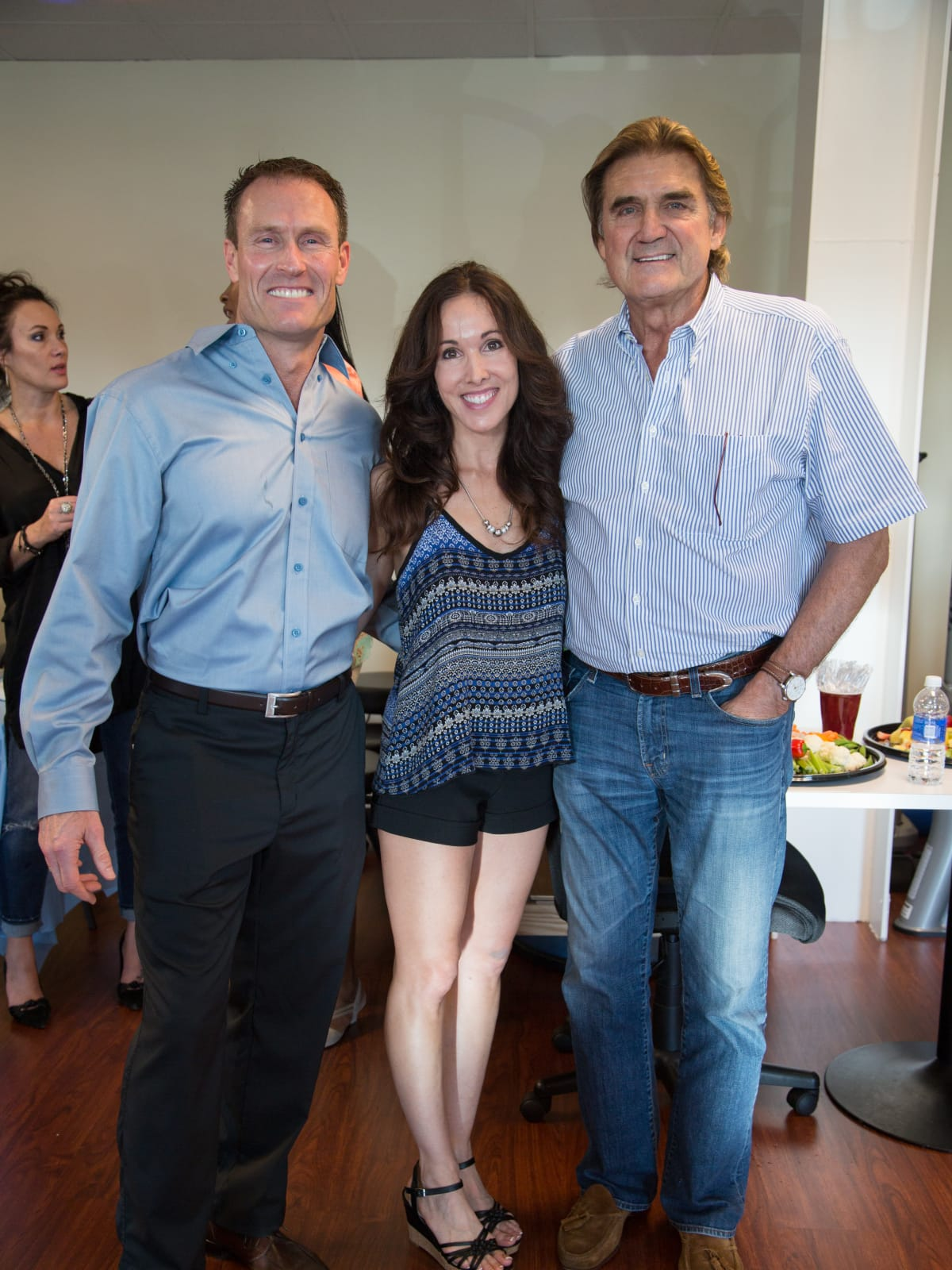 News, Shelby, Luv Ya Blue party, August 2015, Dean Theriot, Jennifer Theriot and Dan Pastorini
