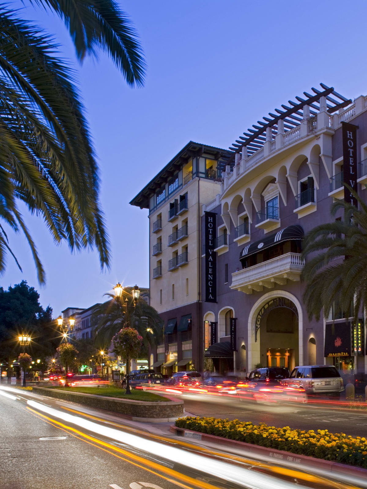 Hotel Valencia at Santana Row in San Jose California