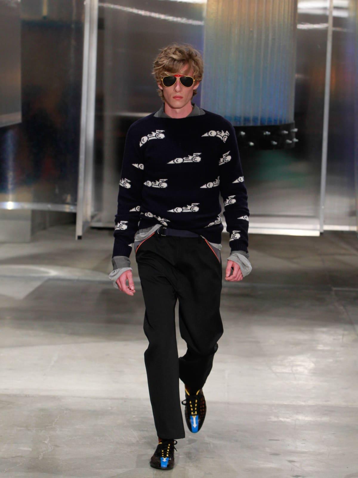 Prada men's ready to wear spring 2016