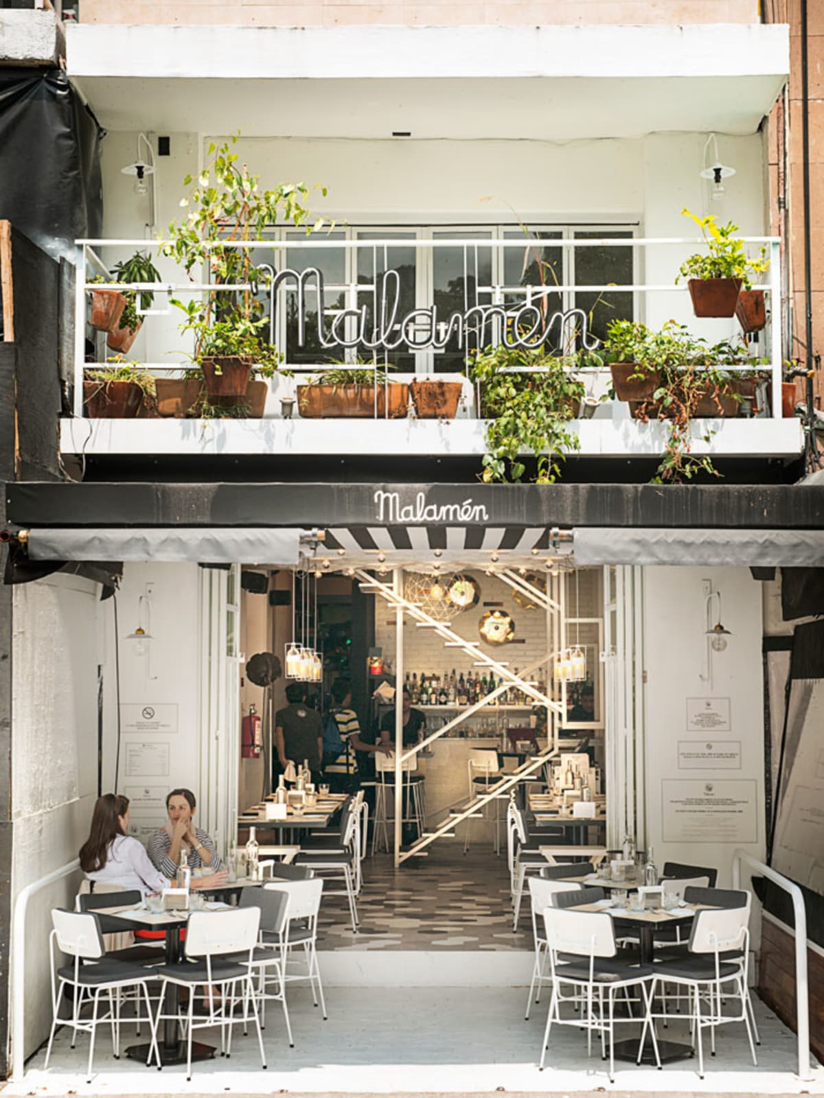 News, Shelby, Polanco in Mexico City, July 2015, Malamen Restaurant