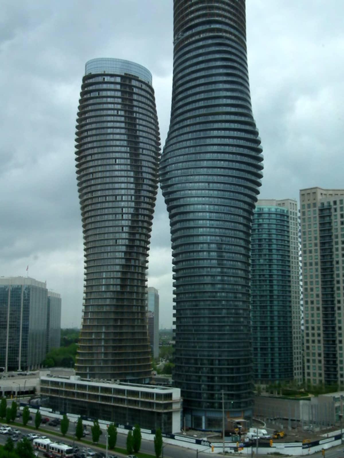 Marilyn Monroe Towers in Canada