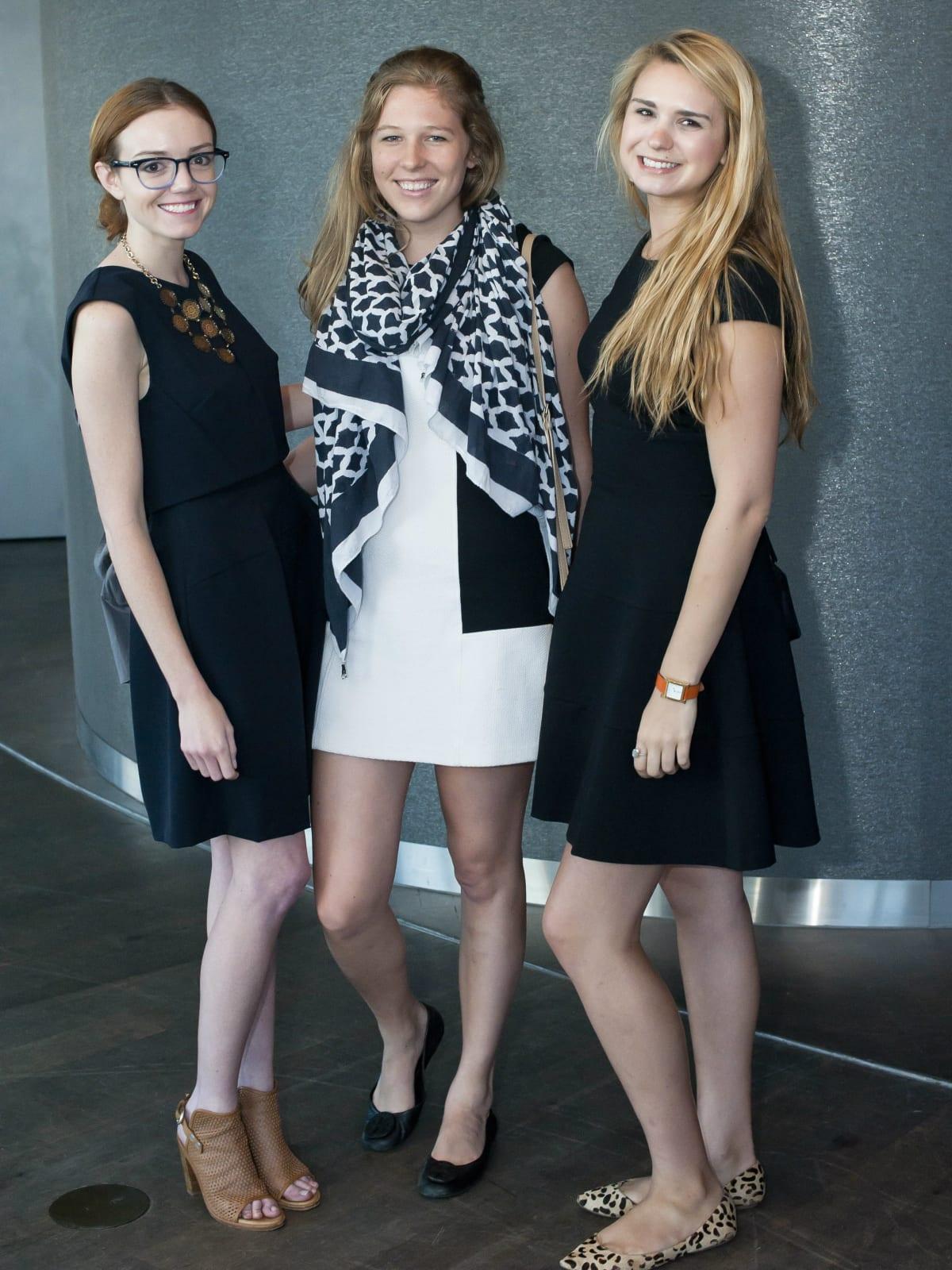 Mary Morgan Radcliff, Kara Shannon, Lily Kramlich-Taylor