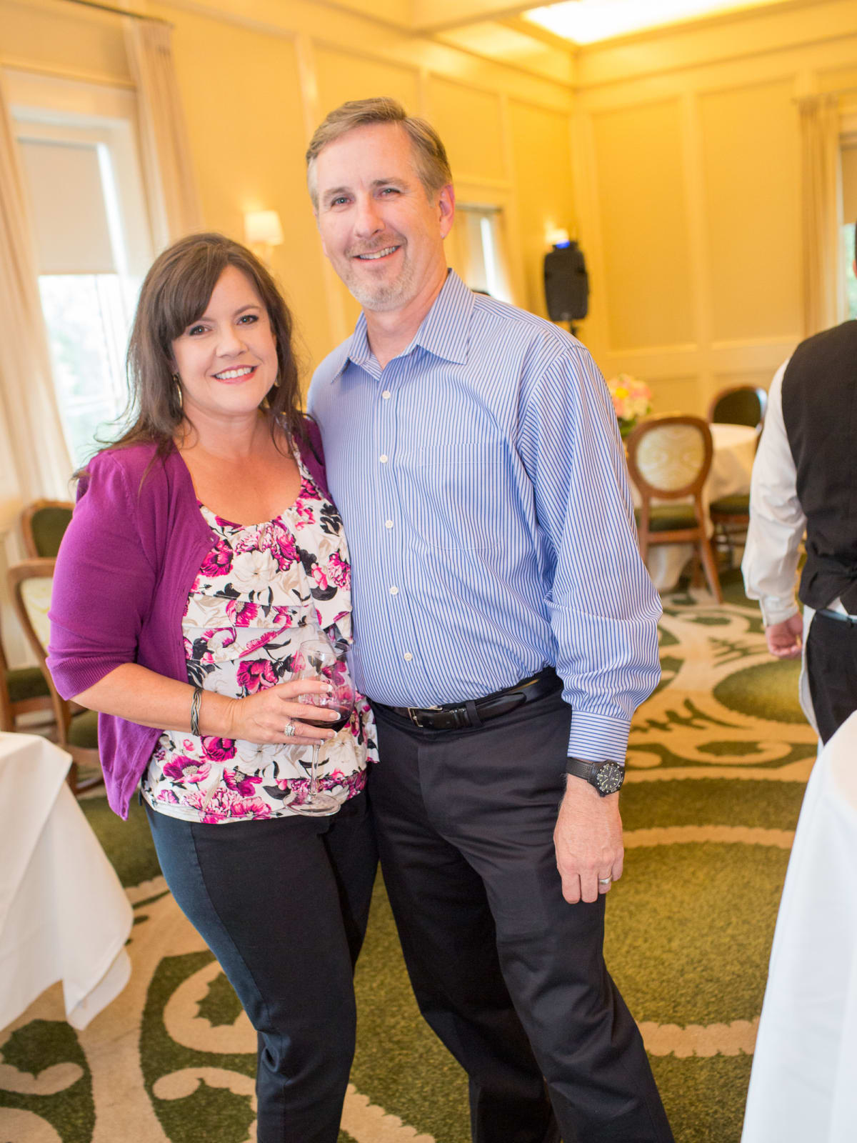 News, Shelby, Cheers 4 Charity kick-off, June 2015, Liz and Mark Livingston