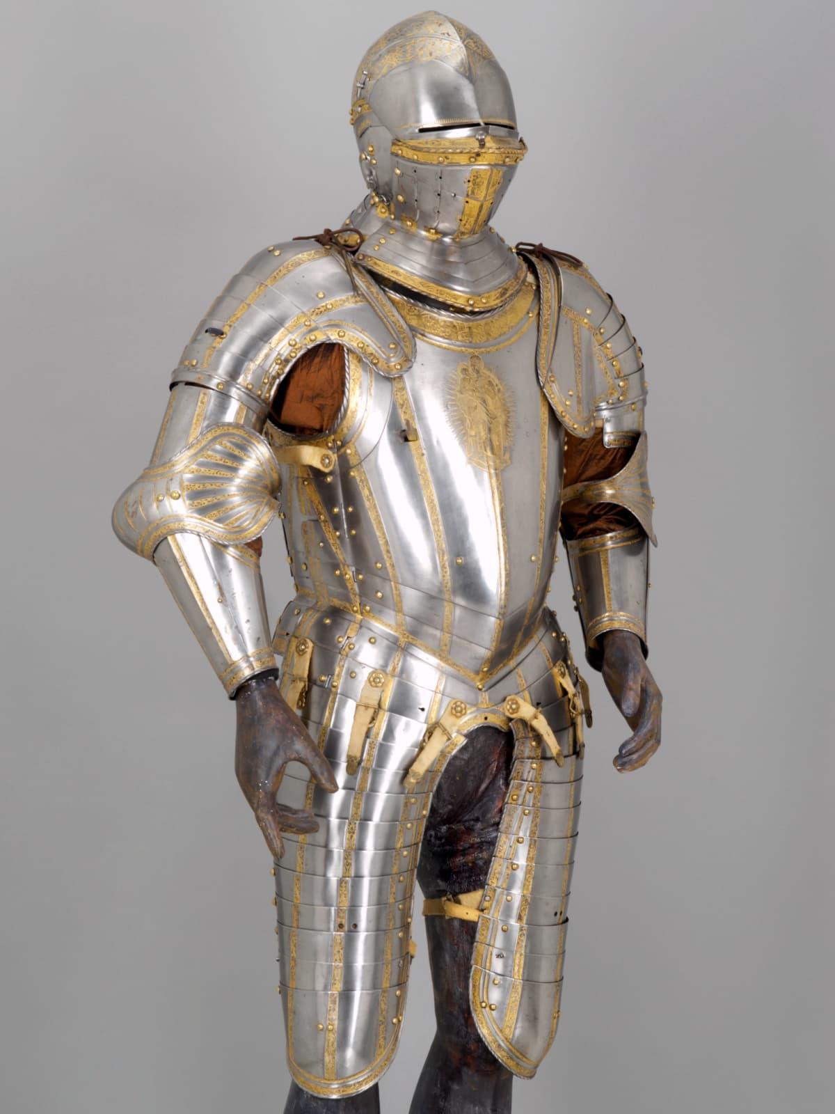 Habsburg Splendor, Light Half‐armor of Emperor Charles V