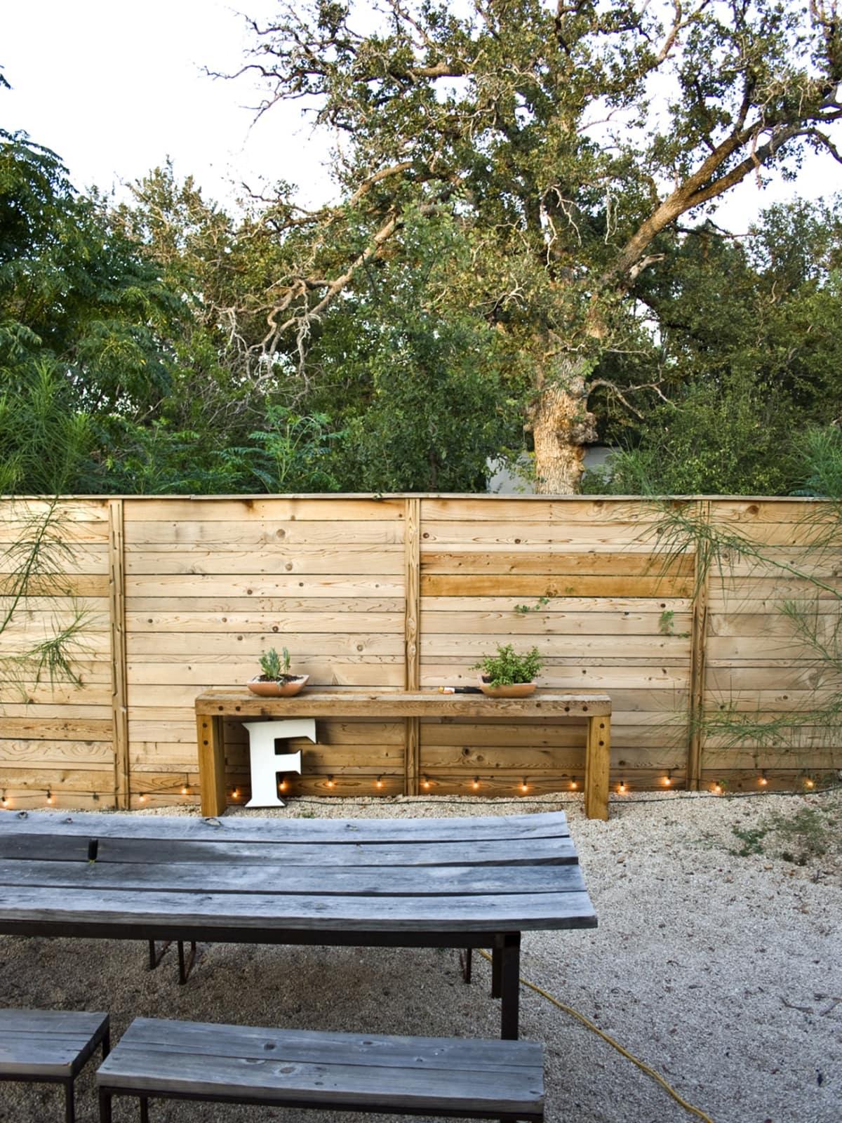 Austin backyard Moontower Design Build Image 1