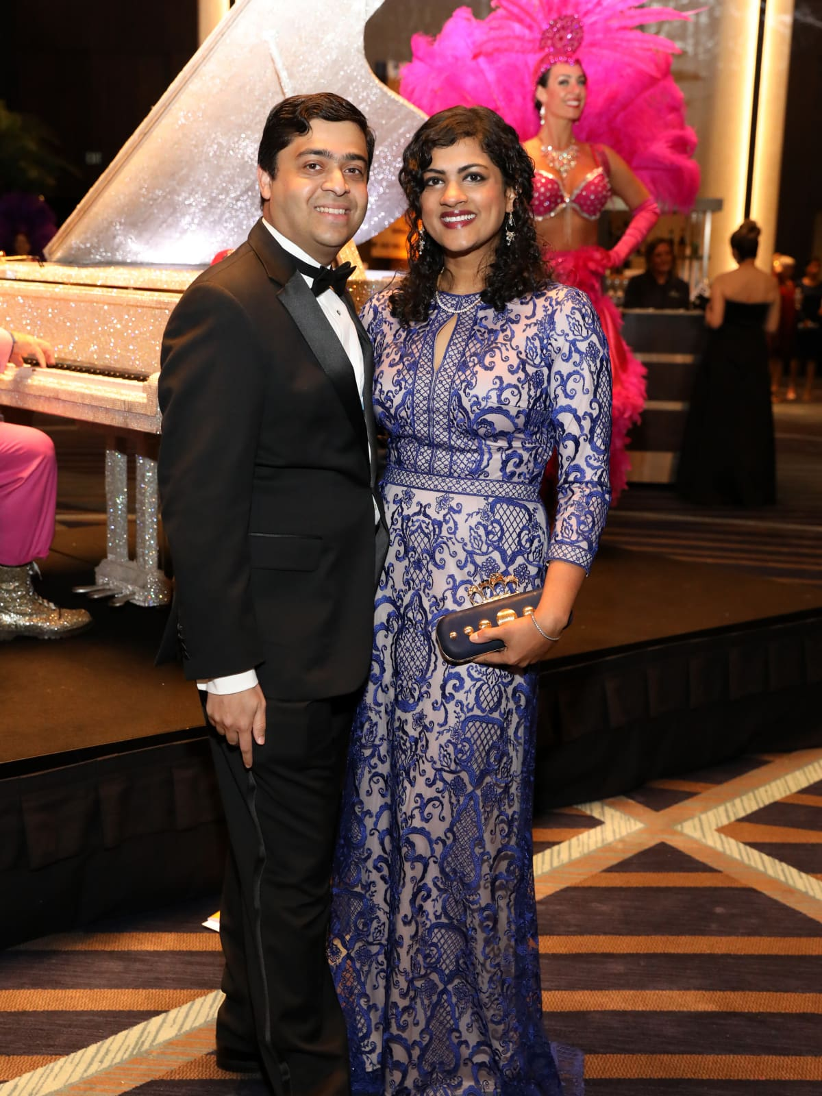 Houston, Houston Symphony Ball, May 2017,  Vivek Subbiah, Ishwaria Subbiah