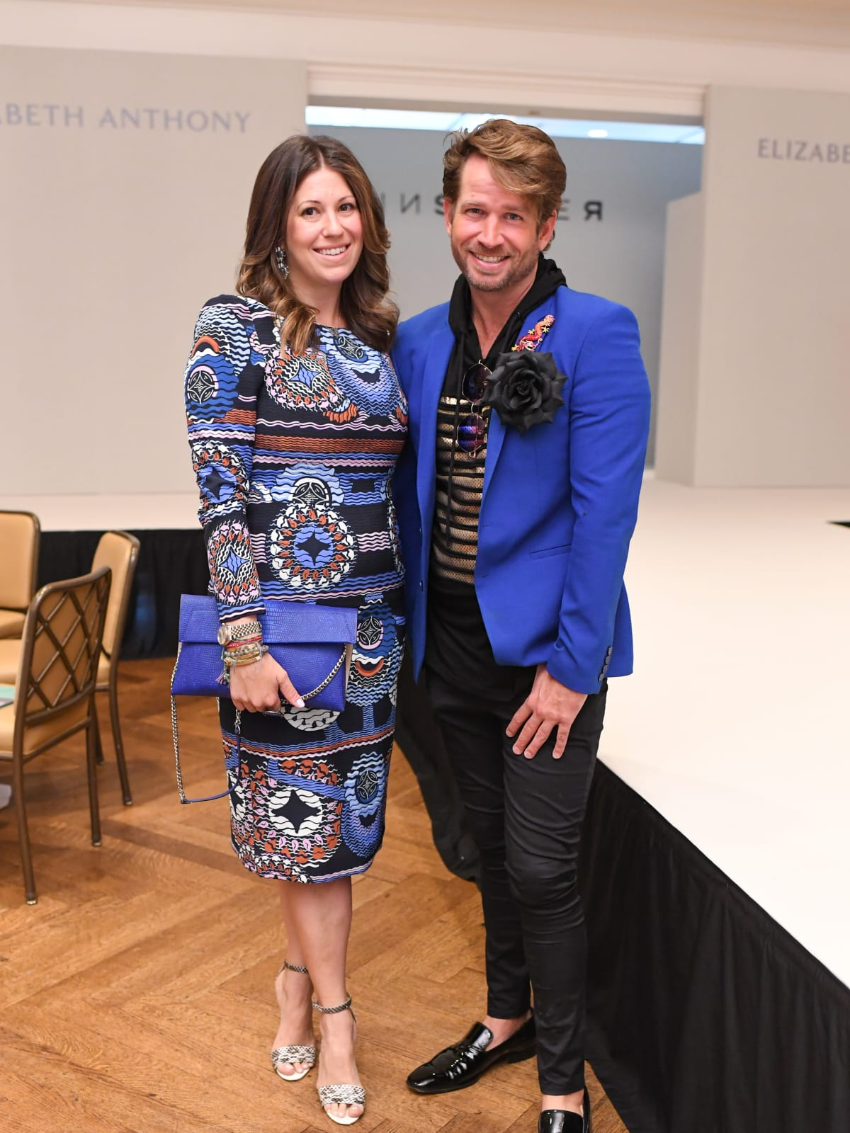 Ally Shell and Jeff Shell at Passion for Fashion Luncheon