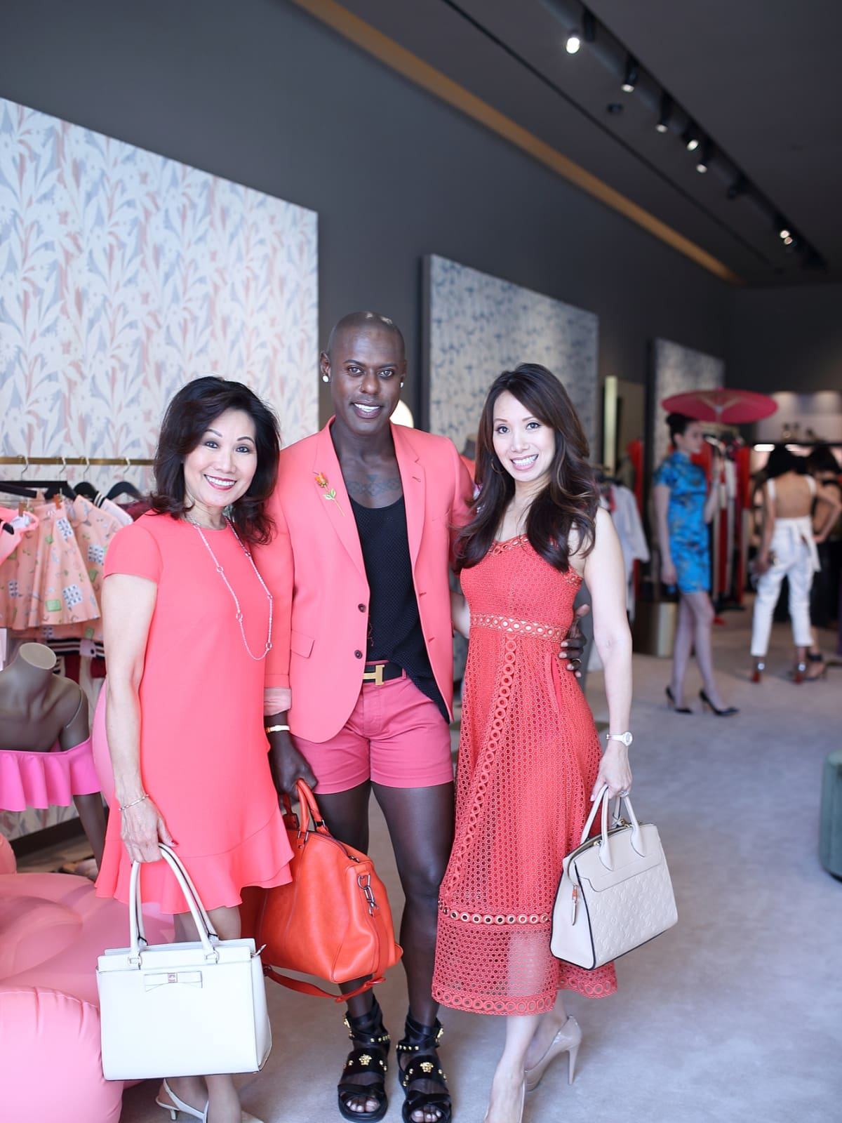 Betty Gee, Pierre Alexandre, Tammy Su at The Webster party
