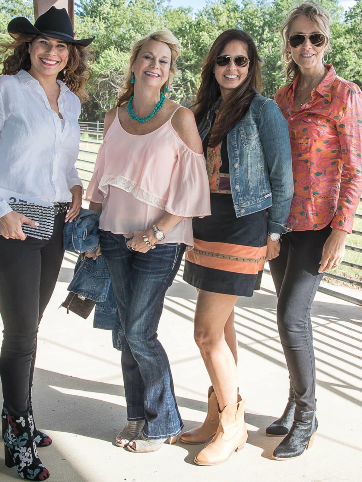 Norma Jean Schaltenbrand, Nancy Henger, Ana Rodriguez, Carolyn Anderson