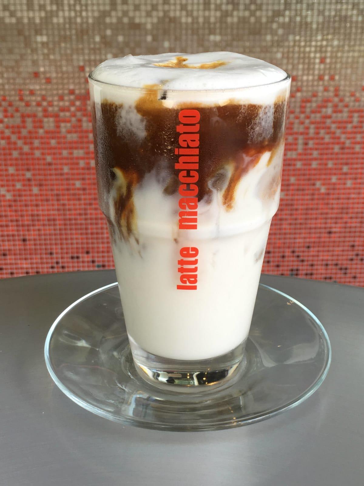 Palmieri Cafe macchiato latte