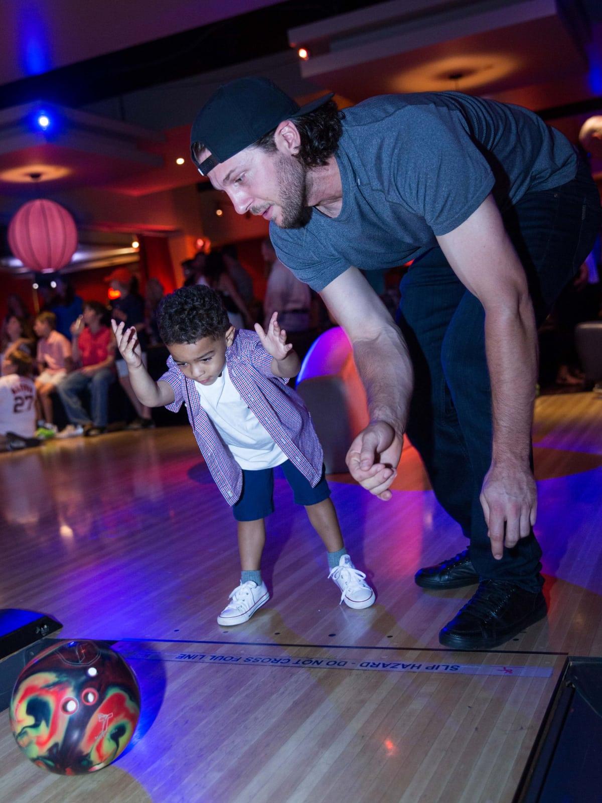 Houston, George Springer All Star Bowling Benefit for Camp Say, June 2017, ,Jake Marisnick