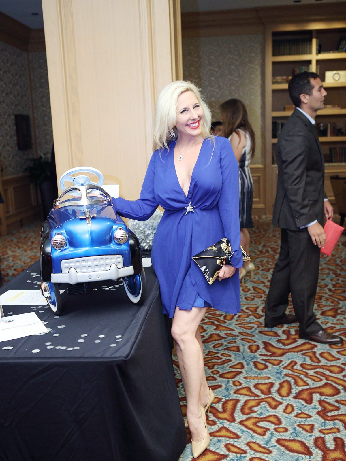 Tracy Faulkner at Great Age Movement inaugural fundraiser