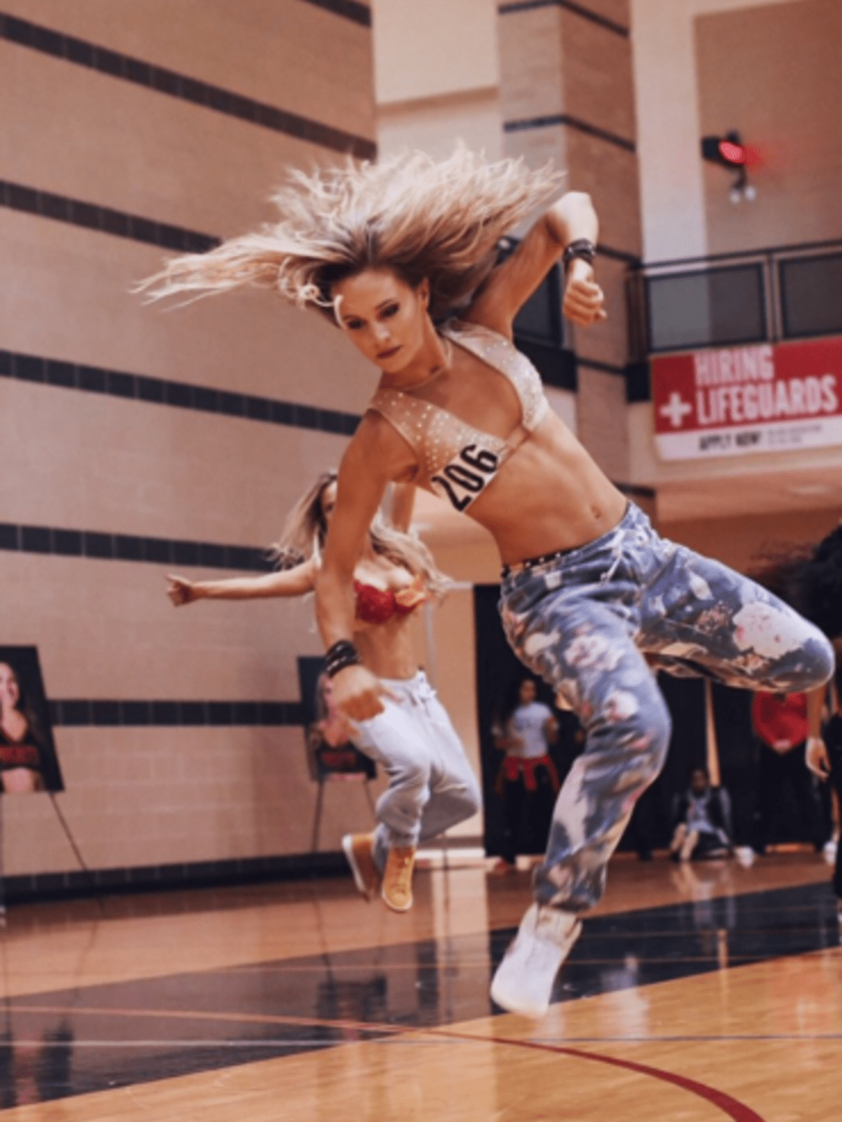 Houston Rockets Power Dancers competition