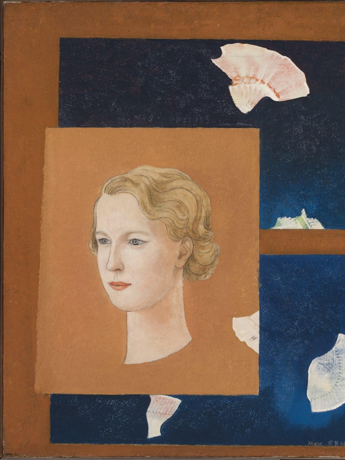 Menil Collection: Max Ernst, Portrait of Dominique