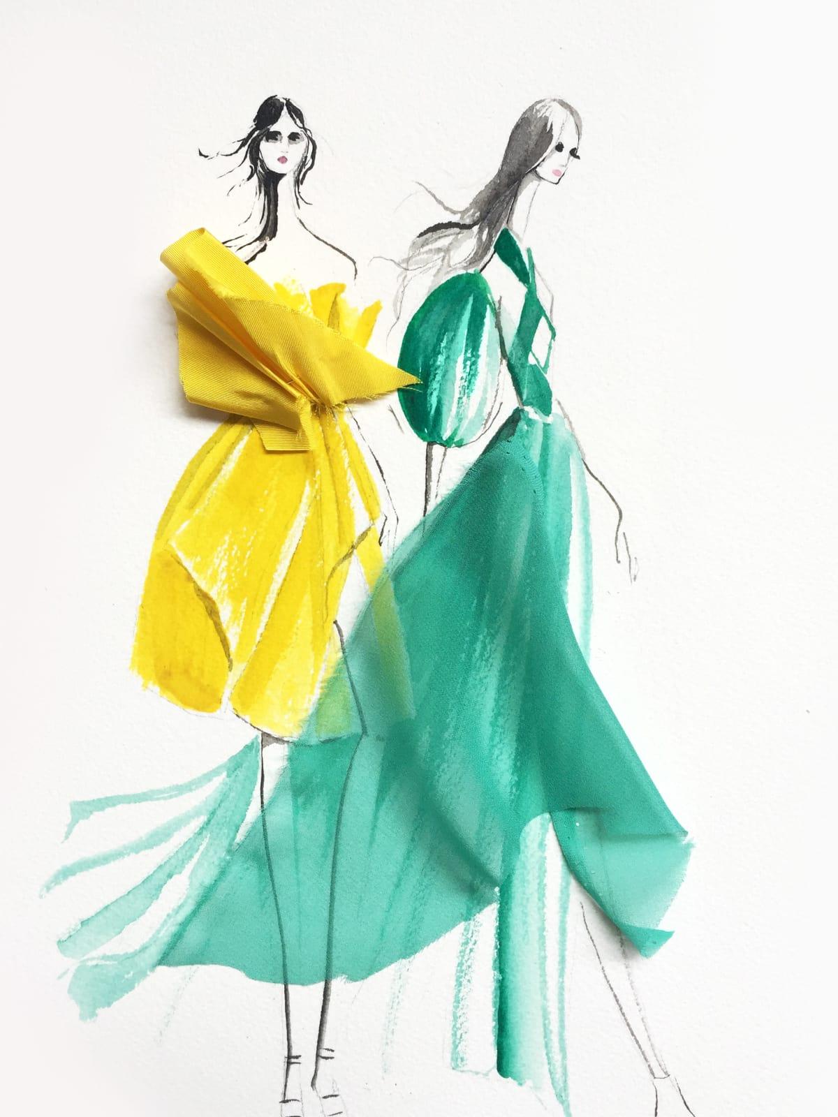 Leanne Marshall designer inspiration spring 2018