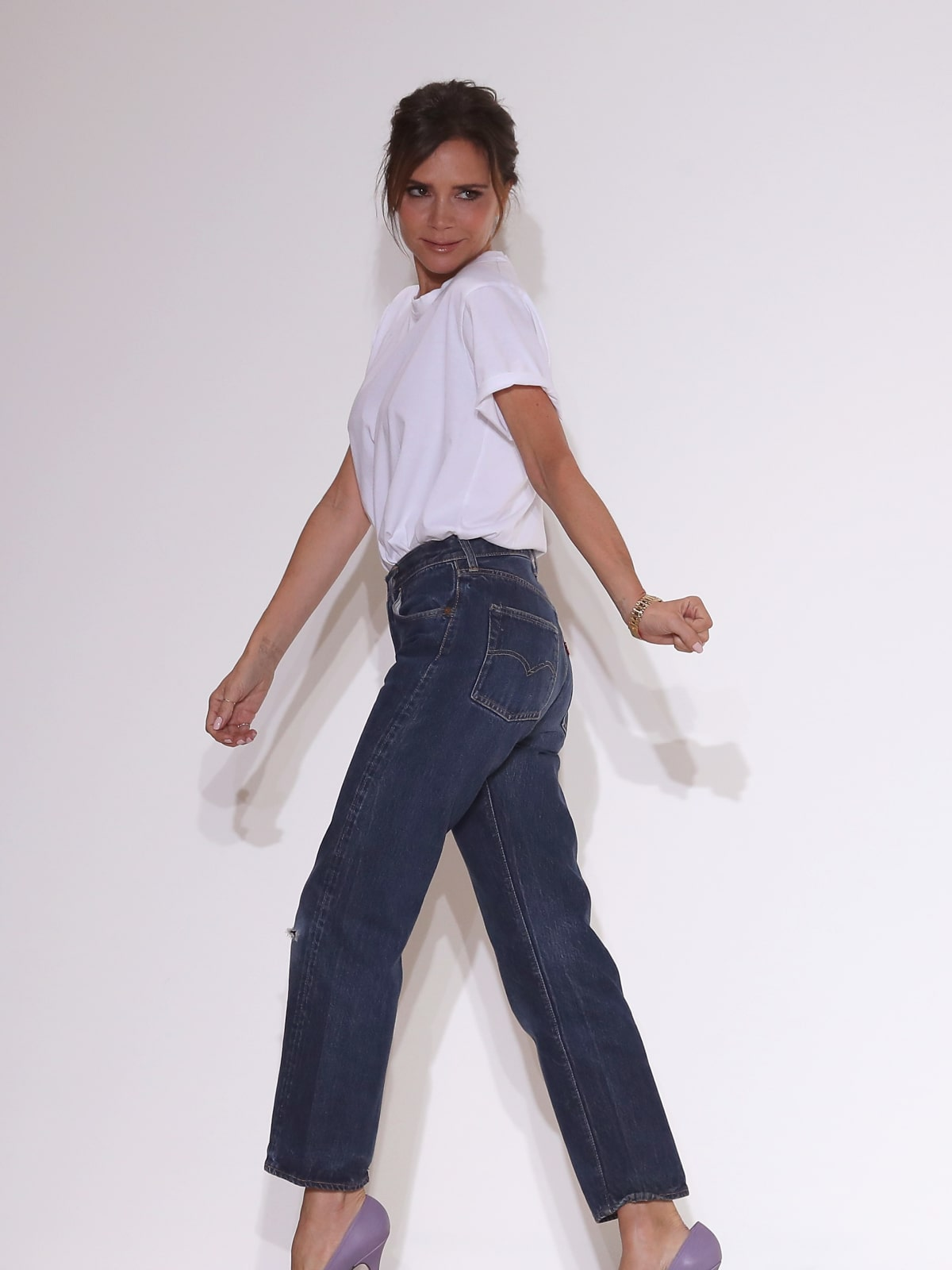 Victoria Beckham takes runway bow New York Fashion Week