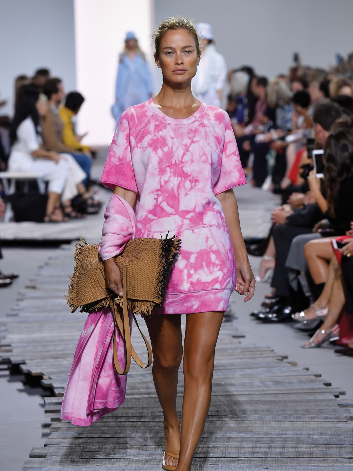 Michael Kors beach party collection mixes evening gowns and flip ...