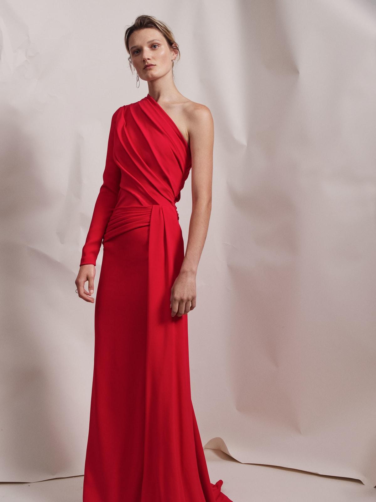 Elizabeth Kennedy spring 2018 gown look 8