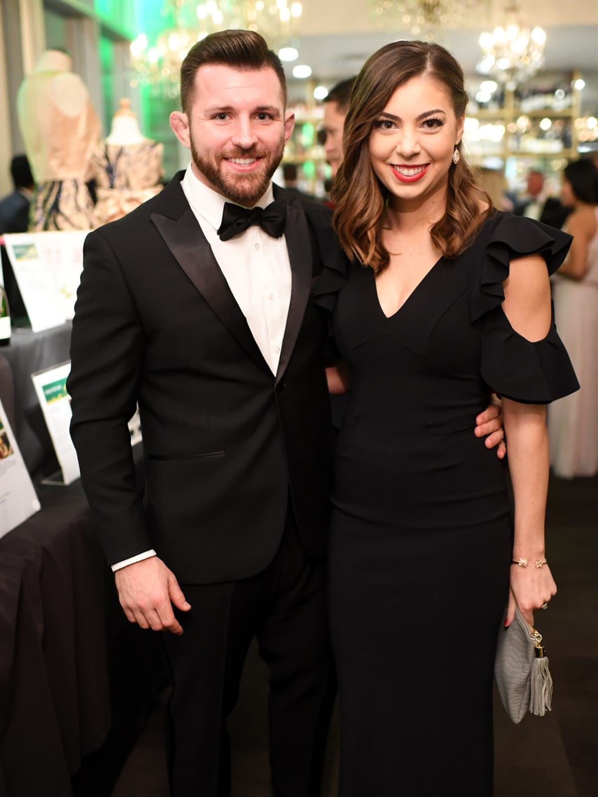 Houston, Jungle Book Gala, Sept. 2017, Alex Samia, Shelby Samia