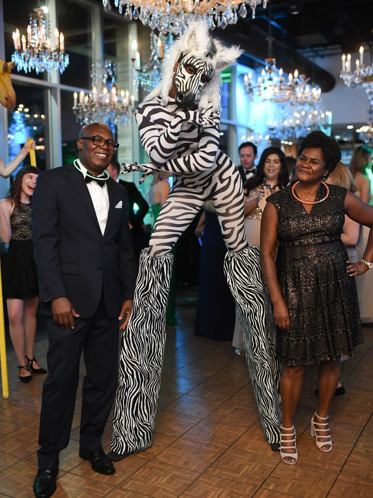 Houston, Jungle Book Gala, Sept. 2017, Wilner Mercilus, Yvrose Mercilus