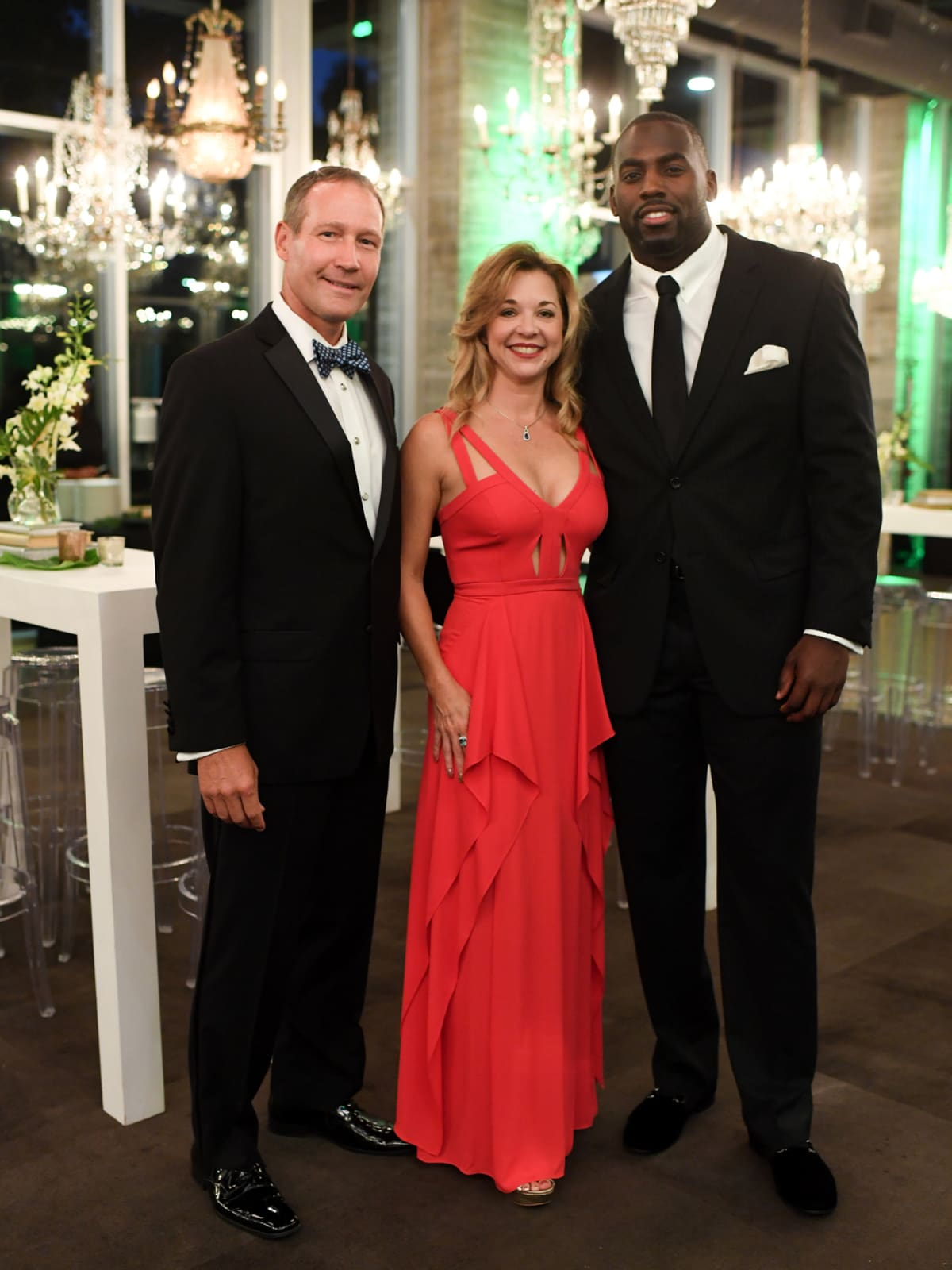 Houston, Jungle Book Gala, Sept. 2017, Ron Finck, Julie Baker Finck, Whitney Mercilus