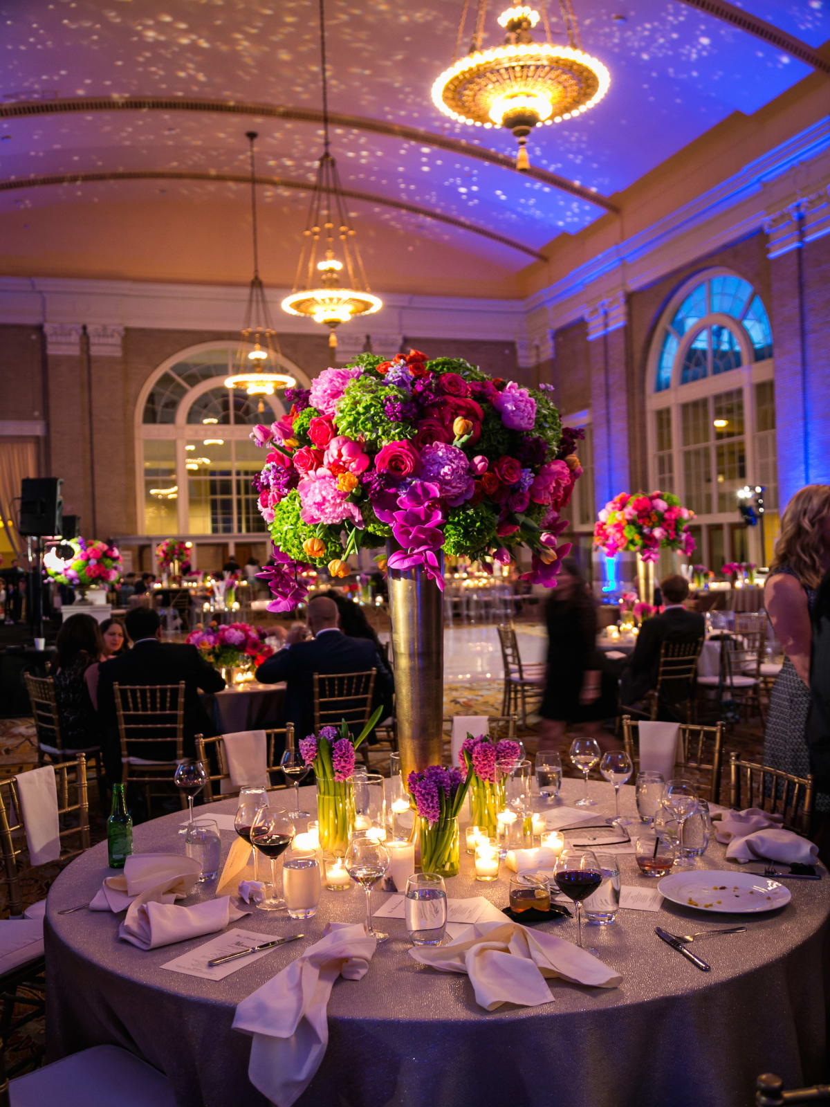 Monica Kitt Wedding, ballroom