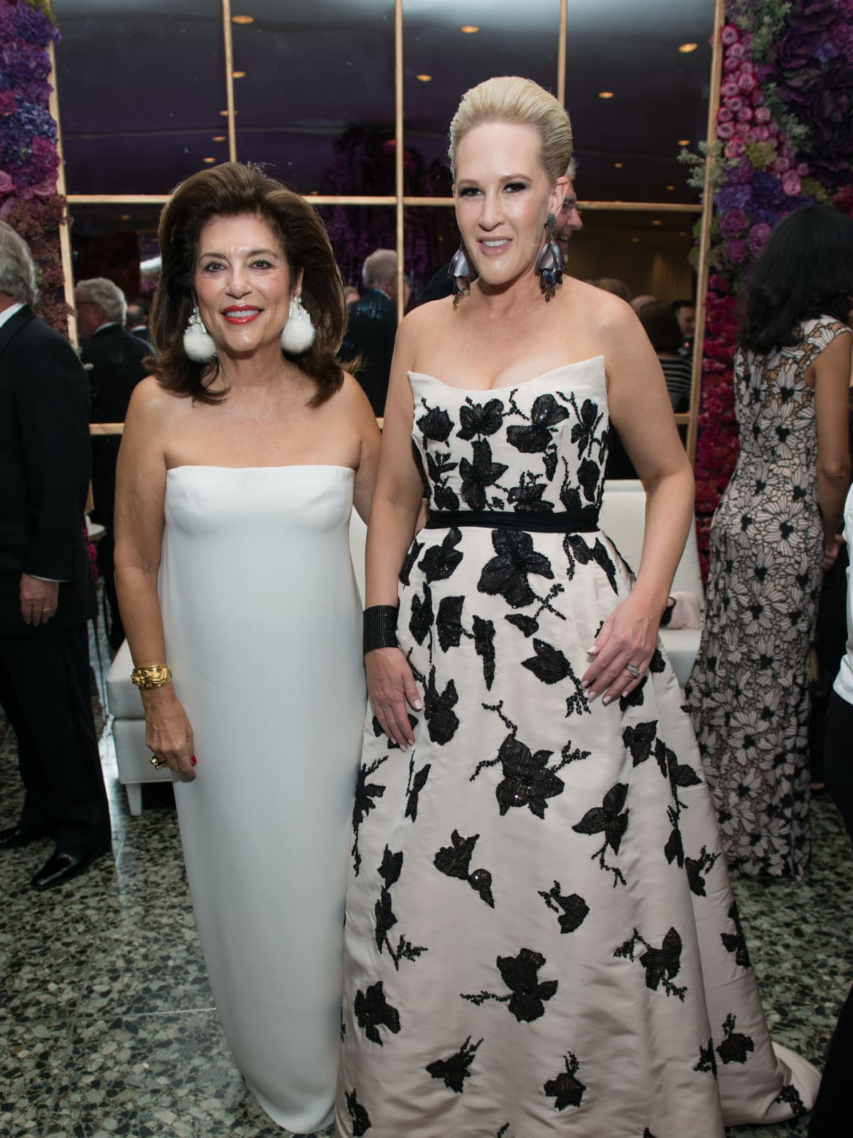 Dancie Ware, Kelly Silvers at MFAH Grand Gala Ball 2017