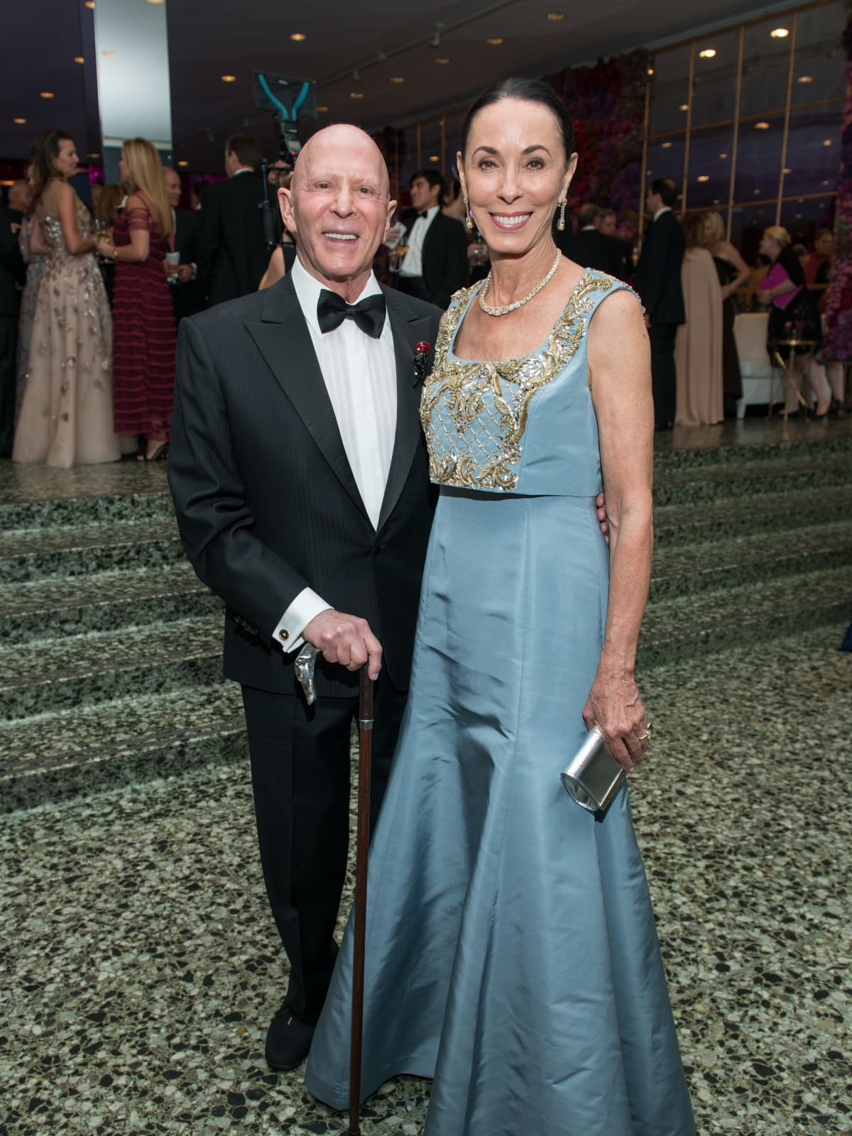 Sue and Lester Smith at MFAH Grand Gala Ball 2017
