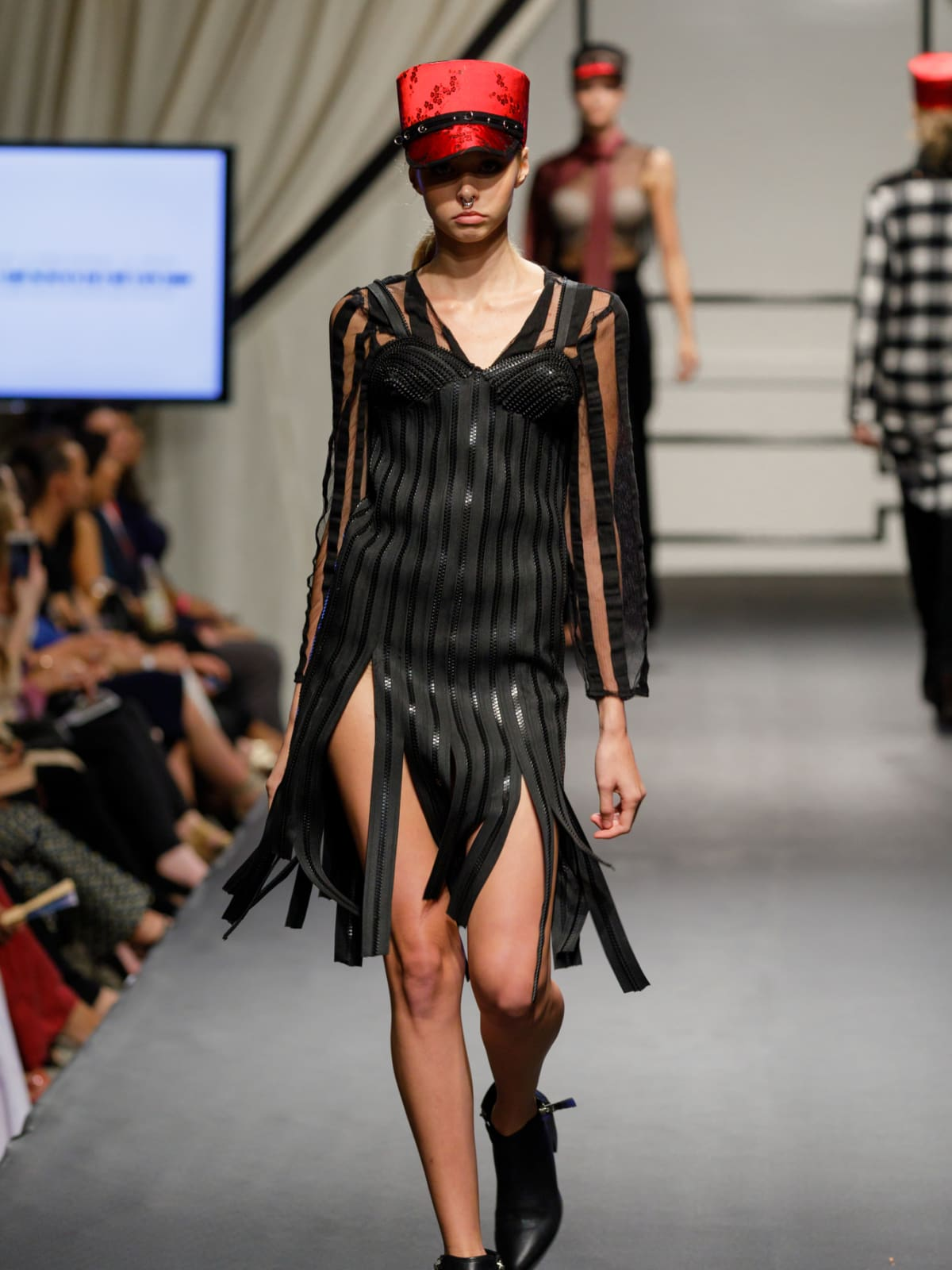 Gunnar Deatherage design at Fashion X Houston