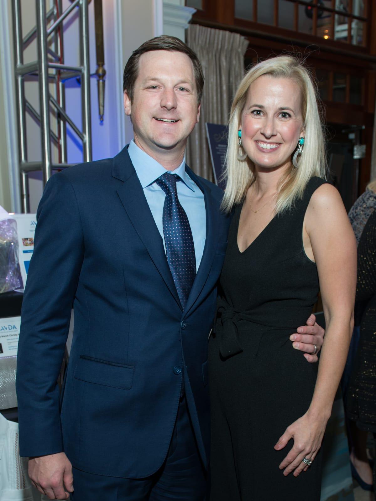 Preston and Meg Kamin at AVDA Gala