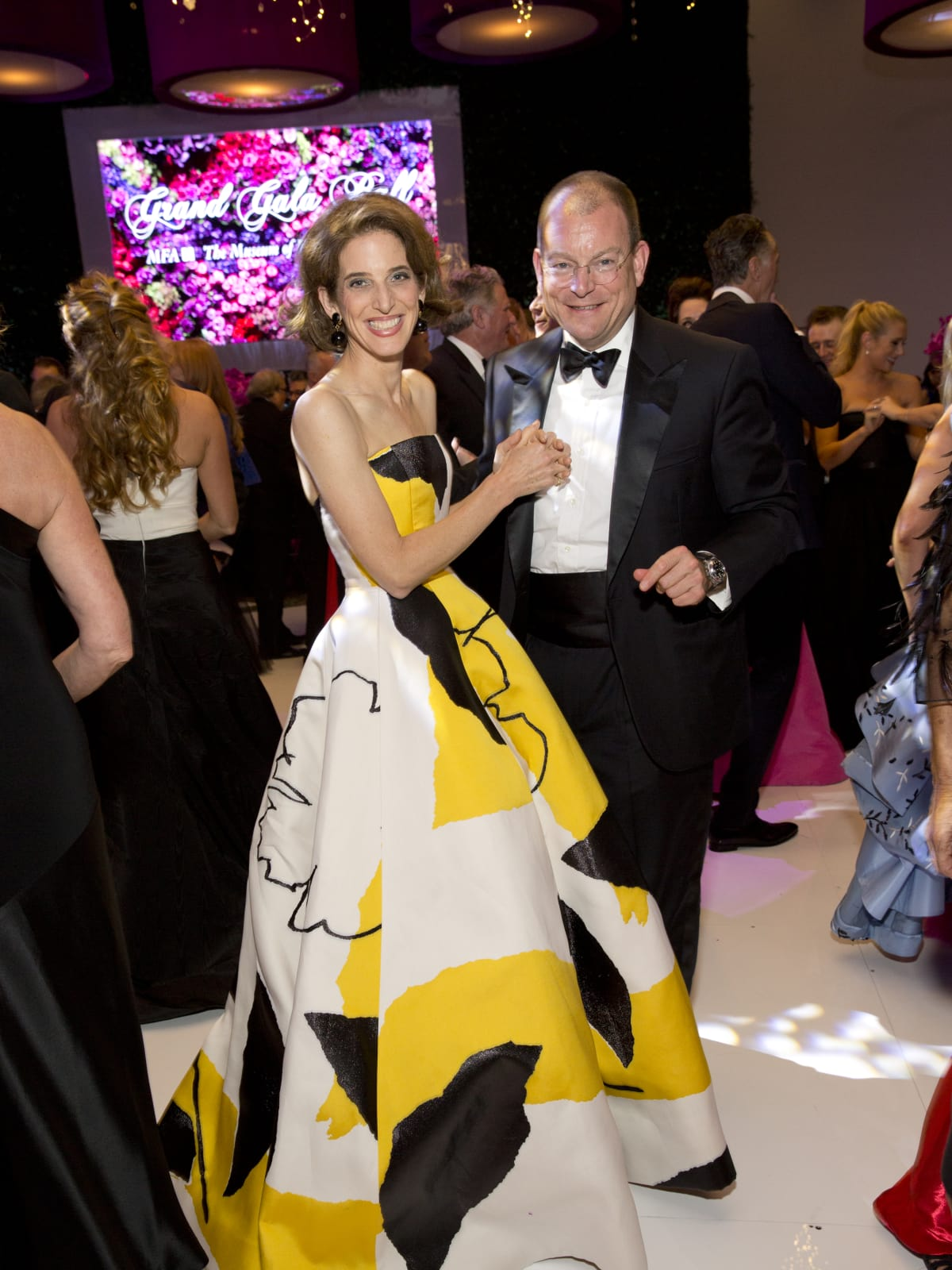 Eliza and Alex Bolen at MFAH Grand Gala Ball