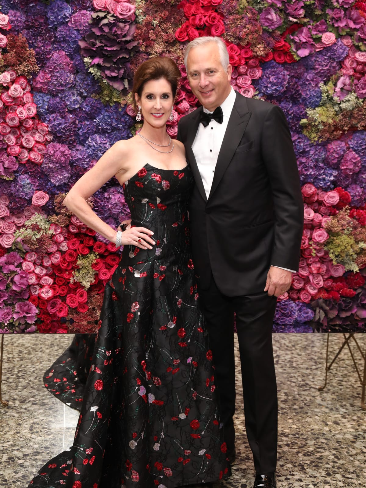 Phoebe and Bobby Tudor at MFAH Grand Gala Ball