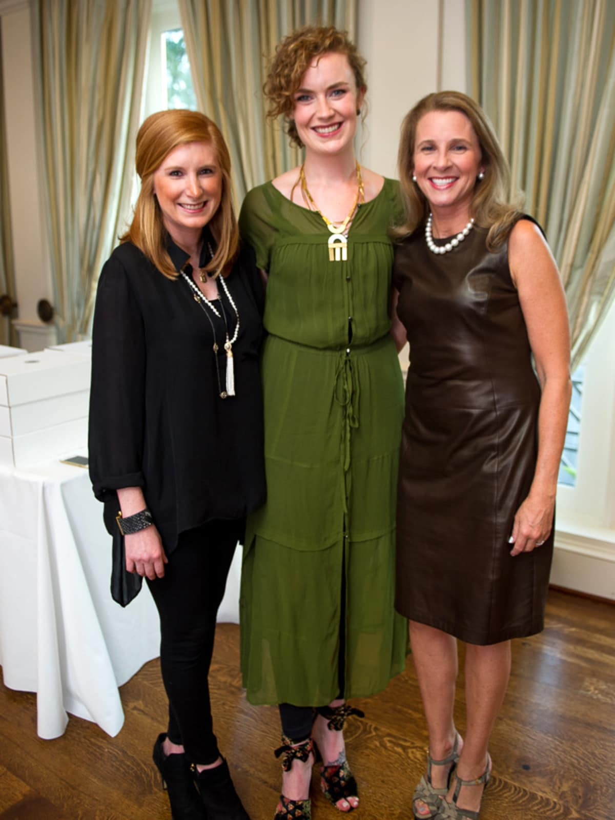 Houston, Marcy, Nick Finnegan Counseling Center Tree of Life Gala, October 2017, Mary Magness Hand, Audrey Omenson, Carla Dawson