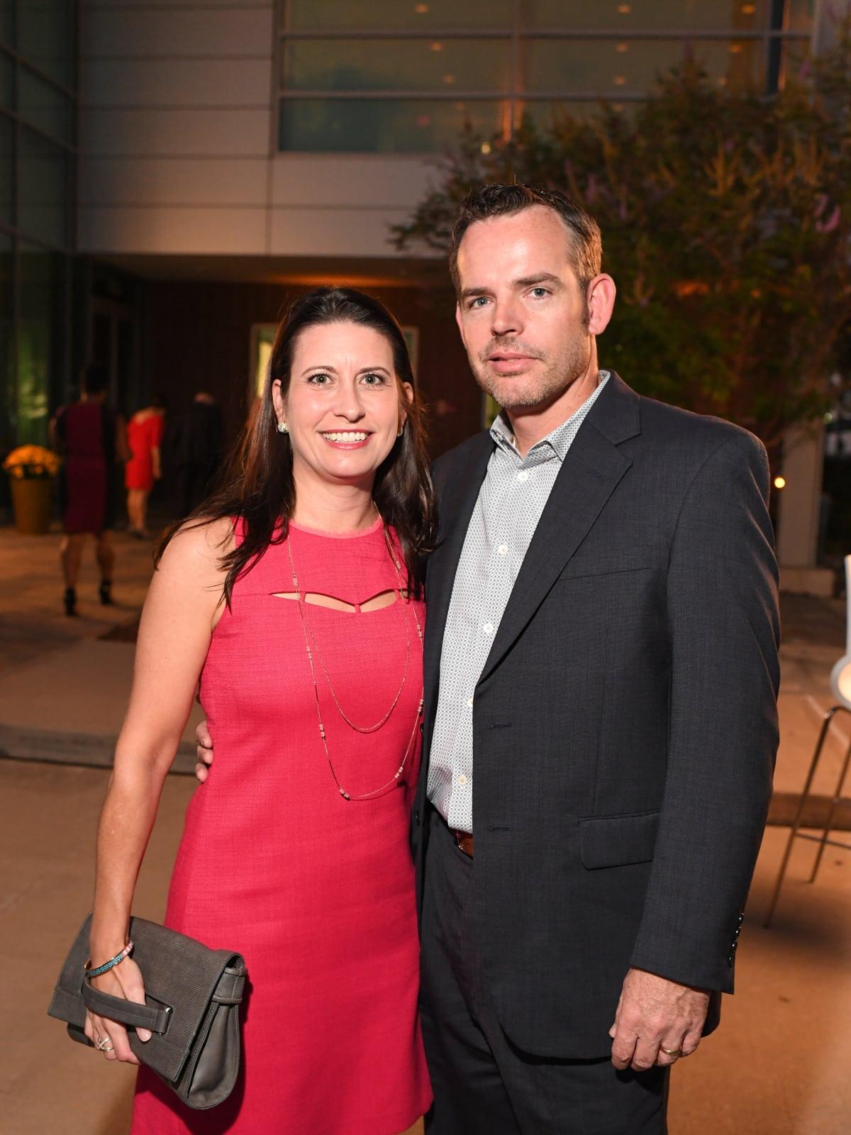 Kasey Dunn, Mark Dunn at Dress for Success Cuisine for a Cause