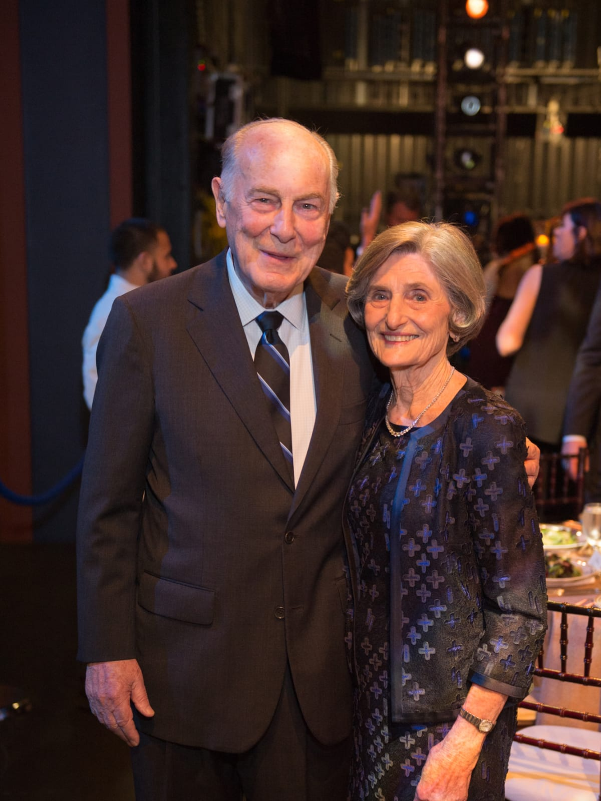 Ted and Melza Barr at Houston Ballet Opening Night dinner