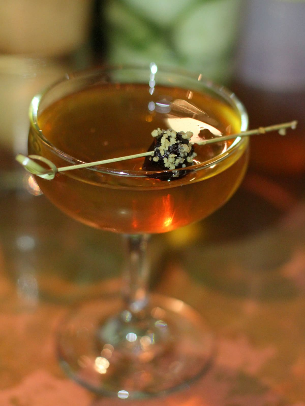 Matt Orth's drink at Woodford Reserve Manhattan party
