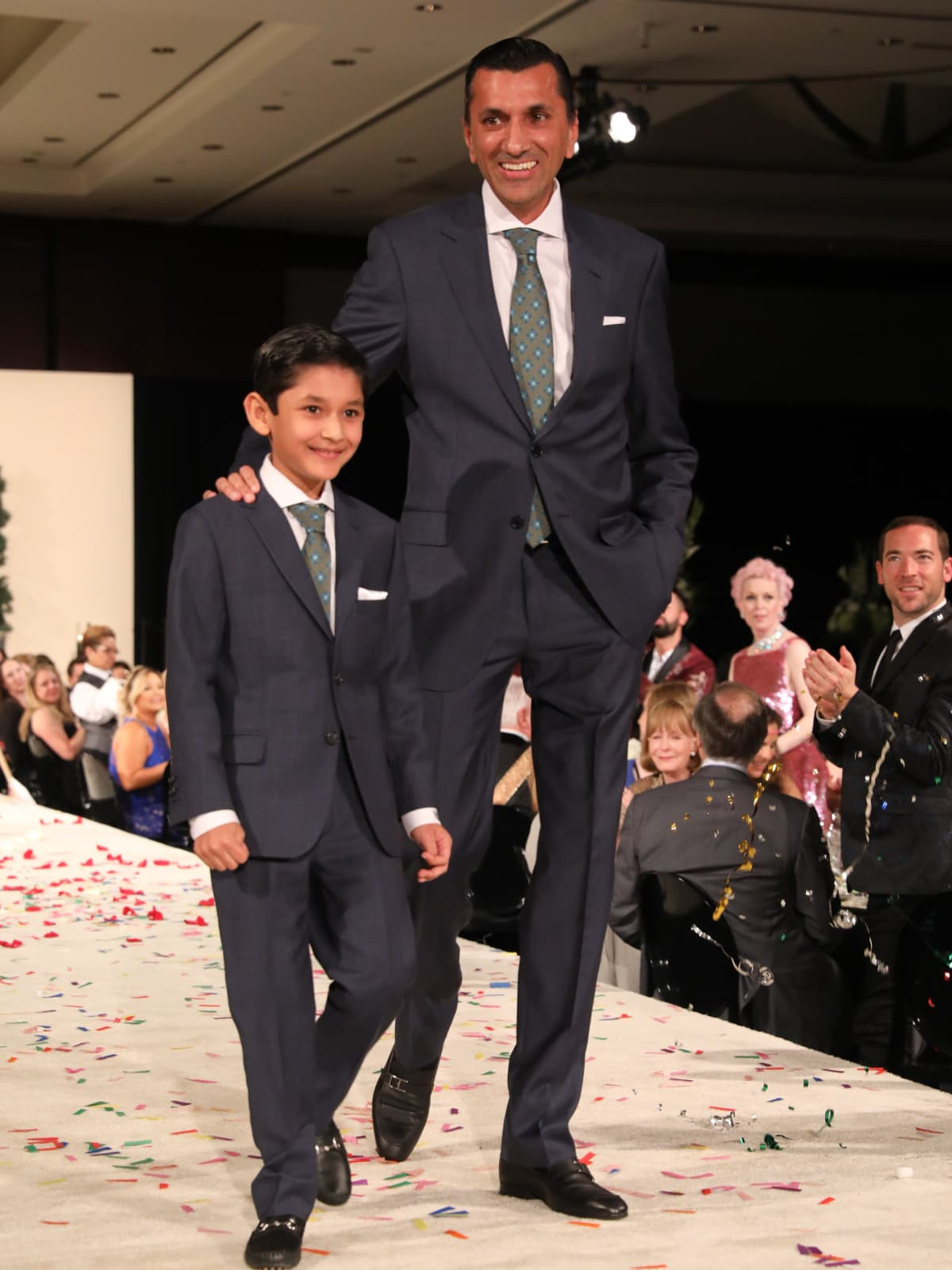 Shaan and Ajay Khurana at Festari Gala
