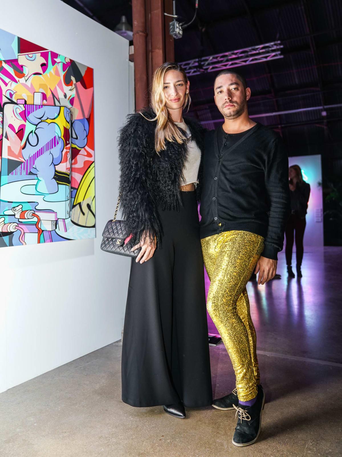 POP Austin 2017 VIP Opening Style Alessia Leoni Nick Moreau