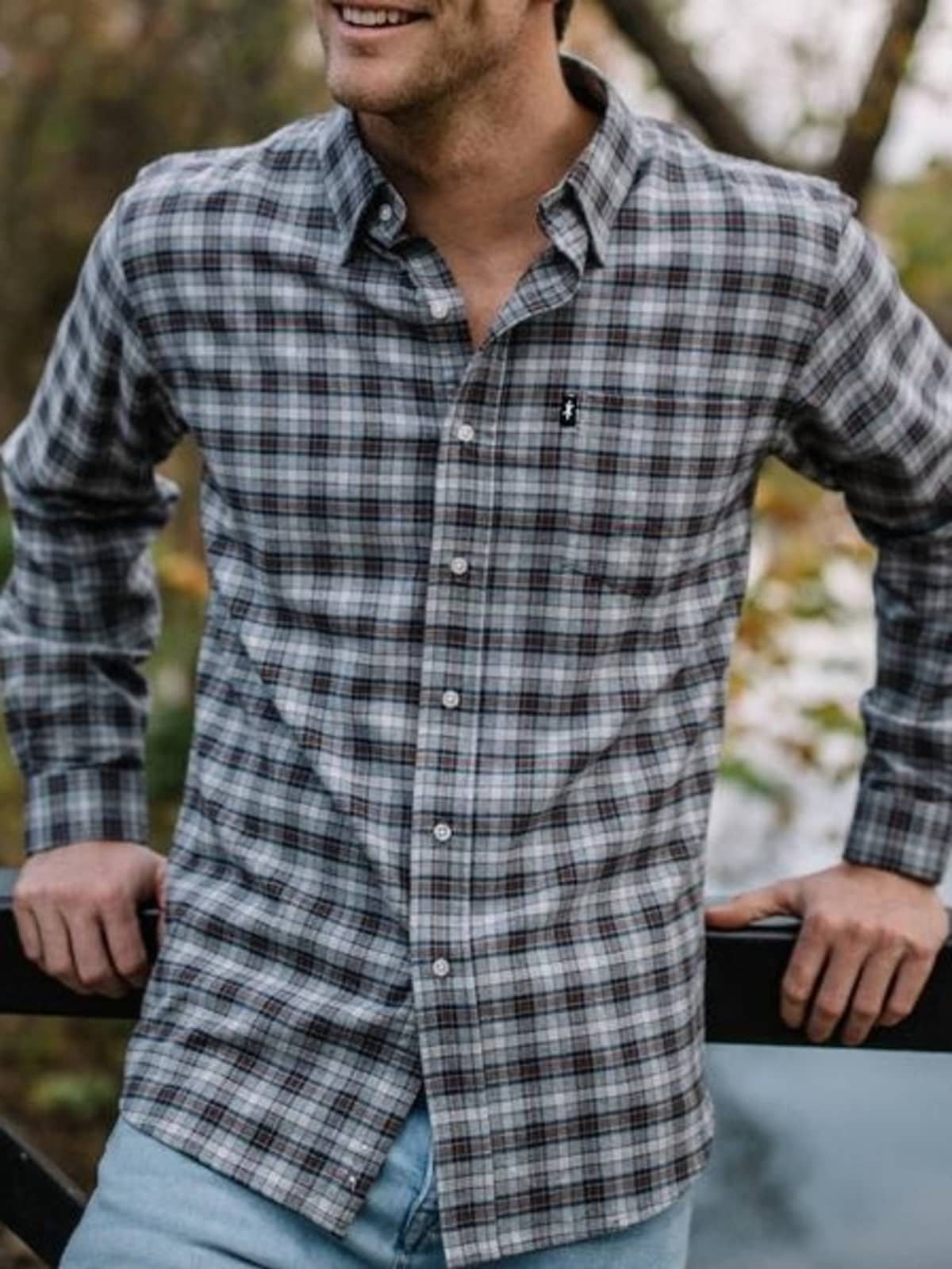 Texas Standard flannel shirt,
