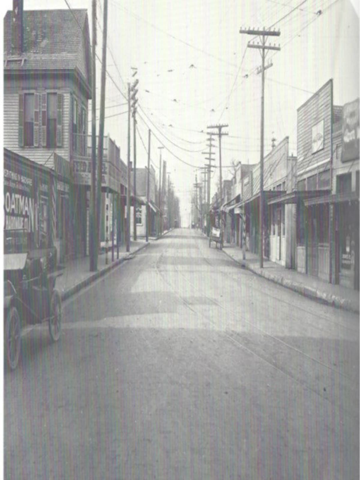 McKinney Avenue in Dallas in 1910