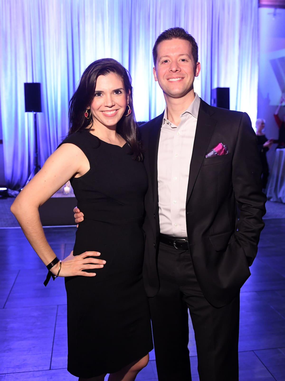 Houston, ZaZa Memorial City grand opening, February 2018, Gloria Bounds, Jesse Bounds