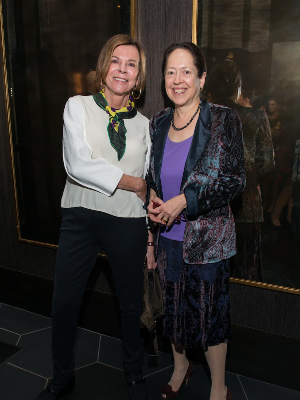 Dr Susan Landy and Dean Barbara Stoll